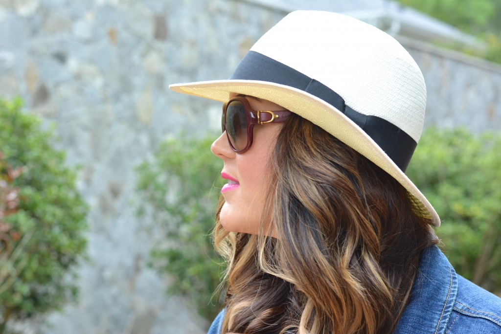 Straw Fedora | Madewell | Shop here for similar style from Madewell