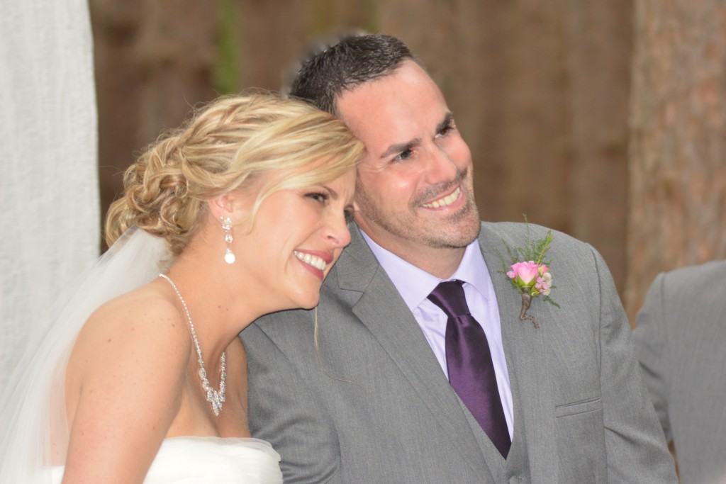 Reagan and Glen...officially husband and wife!