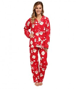 PJ Salvage | via Bloomindales | Holiday Flannel Set | Click here to shop