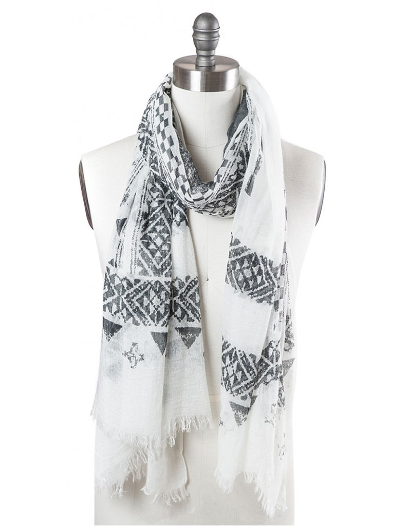 T&C | Canyon Print Scarf | $42.00 | Click here to shop