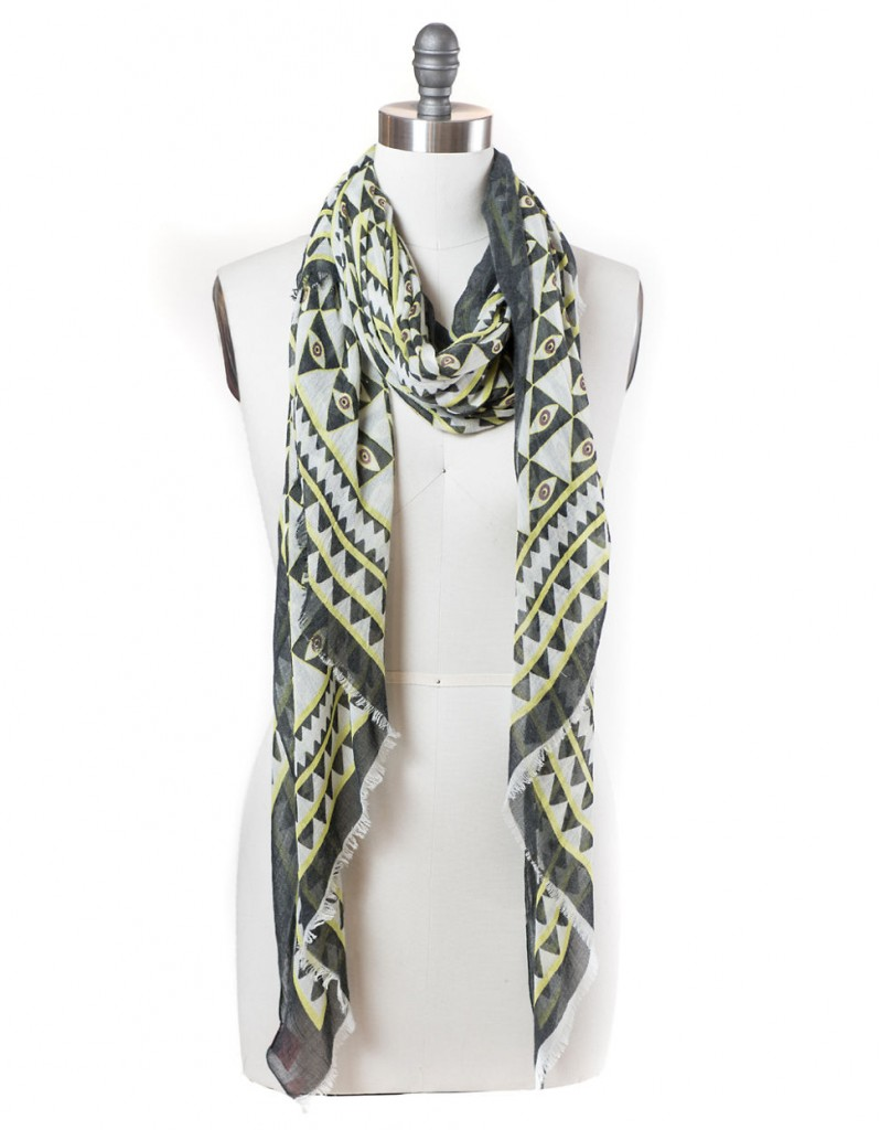 T&C | Luxor Graphic Print Scarf | $48.00 | Click here to shop