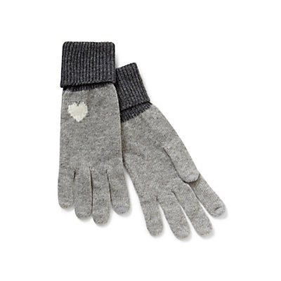 Baby Heart Intarsia Gloves | Click here to shop