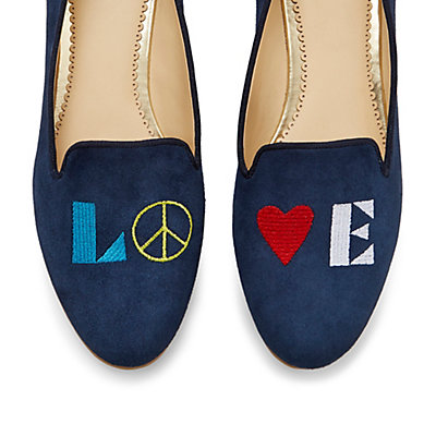 Peace and Love Smoking Slippers