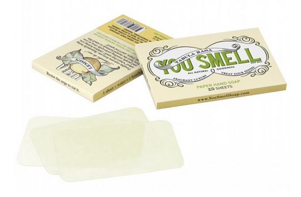 YouSmellPaperSoap