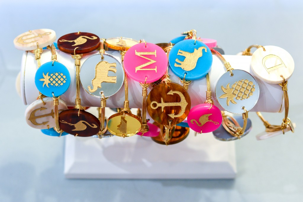 We were obsessing over these bracelets...you can pick which color and design you want!