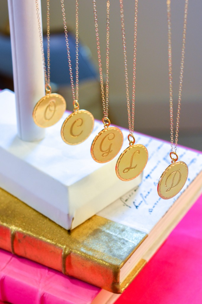 Moon & Lola Initial Necklaces