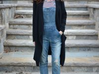 Wearing Overalls in the Winter